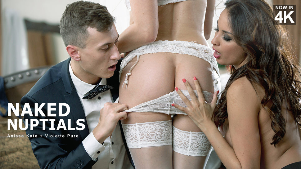 StepMomLessons – Anissa Kate, Violette Pink – Naked Nuptials